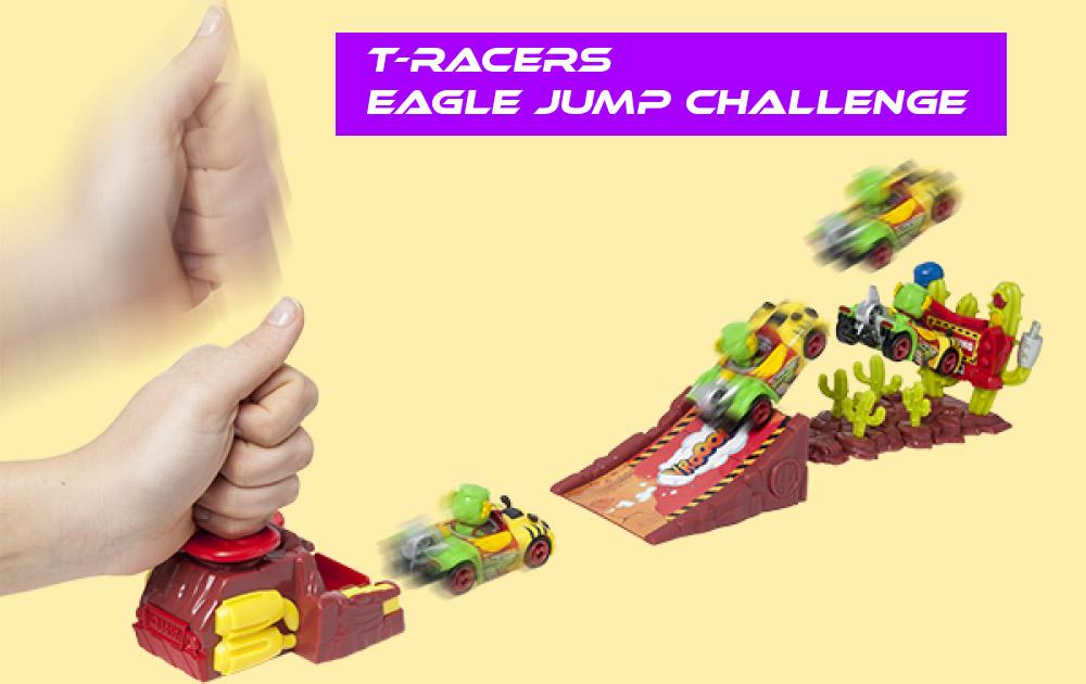 T-Racers Eagle Jump Challenge El reto del desierto T-Racers