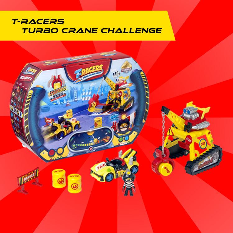 T-Racers Eagle Jump Challenge piezas