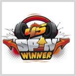 T-Racers spin winner logo