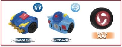 super poderes de Blorg t-racers