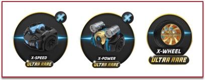 super poderes de x-race t-racers