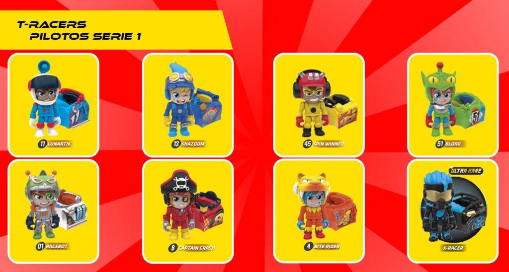 T-RACERS-Turbo-tuning-teams-juguetes-coleccion-pilotos