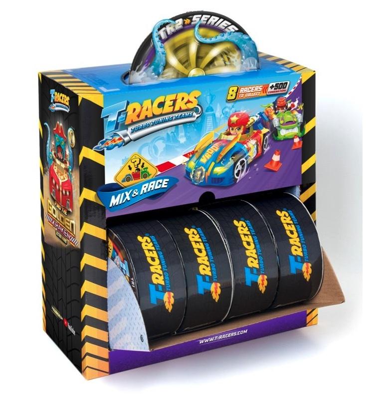 caja T-Wheels de los T-Racers turbo tuning teams Serie 2